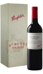 """Вино Penfolds, """"St. Henri"""" Shiraz, 2013, gift box, 0.75 л"""