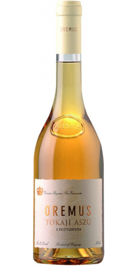 "Вино ""Tokaji Aszu"" 5 ptt, 2008, 0.5 л"