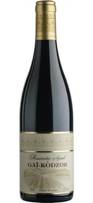 Вино Мурведр-Сира де Гай-Кодзор, 2017, 0.75 л