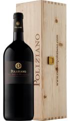 Вино Poliziano, Nobile di Montepulciano DOCG, 2016, wooden box, 1.5 л