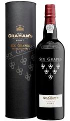 Портвейн Graham's Six Grapes, gift box, 0.75 л