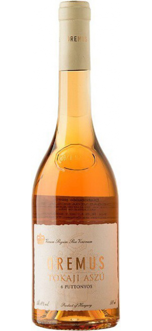 "Вино ""Tokaji Aszu"" 6ptt, 2007, 0.5 л"