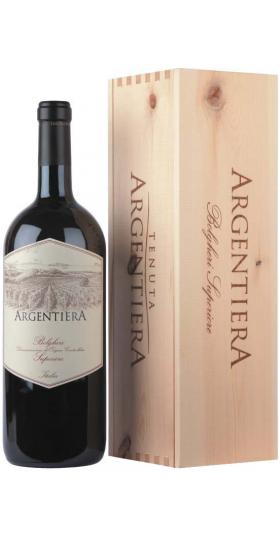 """Вино """"Argentiera"""" Bolgheri Superiore DOC, 2017, wooden box, 1.5 л"""