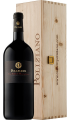 Вино Poliziano, Vino Nobile di Montepulciano DOCG, 2017, wooden box, 1.5 л