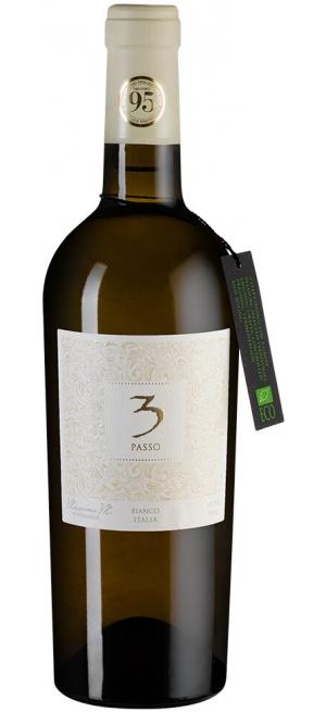 """Вино Cielo e Terra, """"3 Passo"""" Bianco, 2018, 0.75 л"""