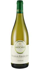 """Вино Chablis Grand Cru AOC """"Le Clos"""", 2014, 0.75 л"""