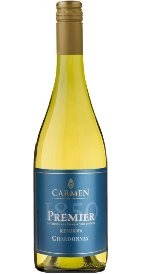 "Вино Carmen, ""Premier 1850"" Reserva Chardonnay, 2019, 0.75 л"
