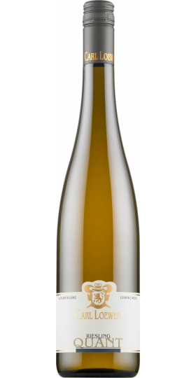 "Вино Carl Loewen, Riesling ""Quant"", 2019, 0.75 л"