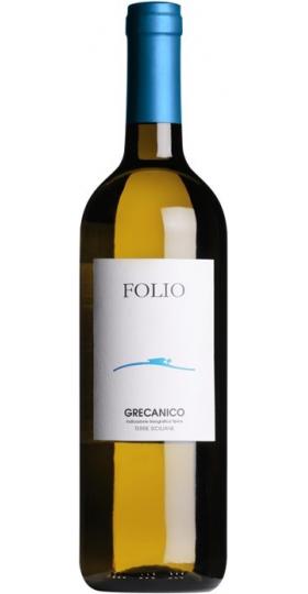 """Вино """"Folio"""" Grecanico, Terre Siciliane IGT, 2019, 0.75 л"""