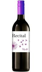 "Вино ""Recital"" Merlot, Pays d'Oc, 2017, 0.75 л"