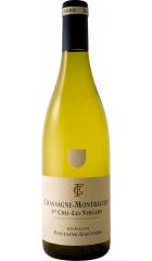 "Вино Domaine Fontaine-Gagnard, Chassagne-Montrachet 1er Cru AOC ""Les Vergers"" Blanc, 2017, 0.75 л"