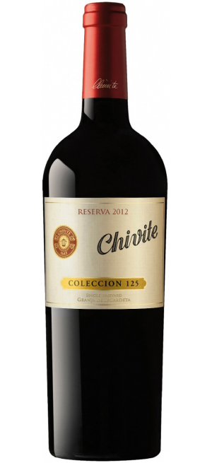 "Вино ""Coleccion 125"" Reserva, Navarra DO, 2012, 0.75 л"
