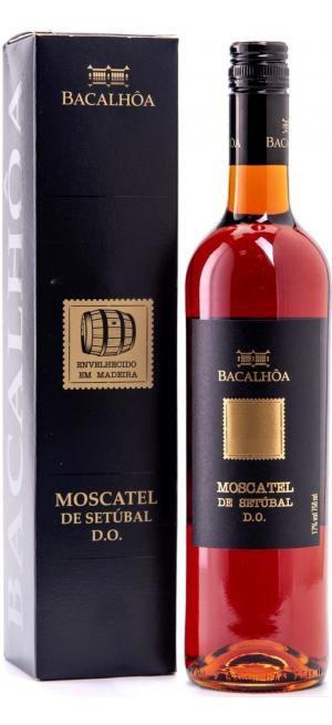Вино Bacalhoa, Moscatel de Setubal DO, 2017, gift box, 0.75 л