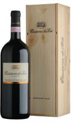 """Вино Casanova di Neri, Brunello di Montalcino """"Tenuta Nuova"""" DOCG, wooden box, 1.5 л"""