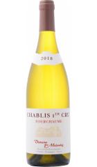"""Вино Domaine des Malandes, Chablis Premier Cru """"Fourchaume"""" AOC, 2018, 0.75 л"""