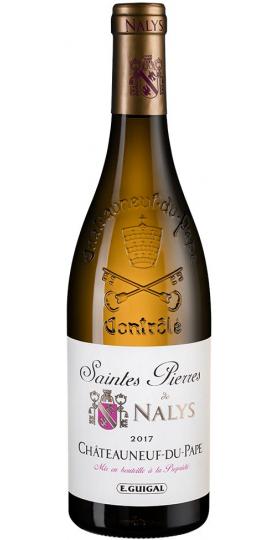 """Вино """"Saintes Pierres de Nalys"""" Blanc, Chateauneuf-du-Pape AOC, 2017, 0.75 л"""