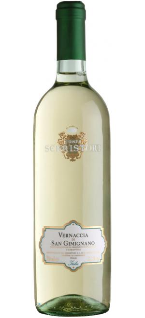 Вино Conti Serristori, Vernaccia di San Gimignano DOCG, 2019, 0.75 л