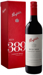 "Вино Penfolds, ""Bin 389"" Cabernet Shiraz, 2014, gift box, 0.75 л"
