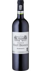 Вино Chateau Haut Branda, Bordeaux AOC, 2017, 0.75 л