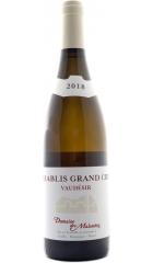 "Вино Domaine des Malandes, Chablis Grand Cru ""Vaudesir"" AOC, 2018, 0.75 л"