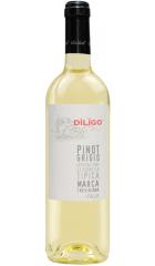"Вино Anna Spinato, Pinot Grigio ""Diligo"" IGT, 2019, 0.75 л"