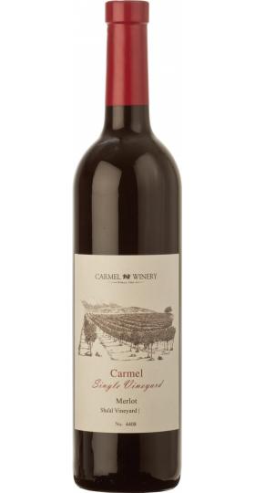 "Вино ""Carmel Single Vineyard"" Merlot, Sha'al Vineyard, 2010, 0.75 л"