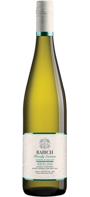 """Вино Babich Wines, """"Family Estates"""" Cowslip Valley Riesling, 2019, 0.75 л"""