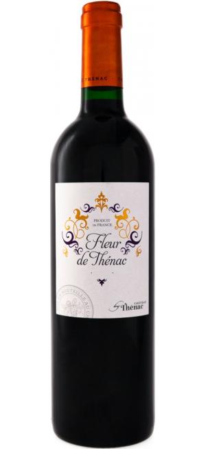 "Вино ""Fleur de Thenac"" Rouge, Bergerac AOC, 2014, 0.75 л"