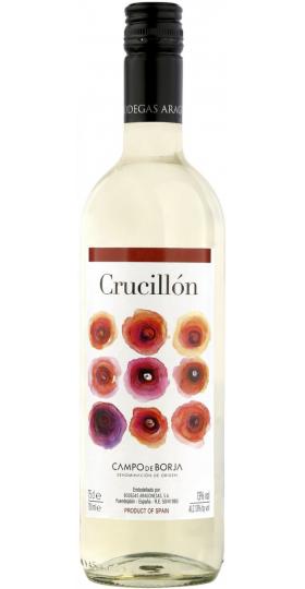 "Вино Bodegas Aragonesas,""Crucillon"" Blanco, 2019, 0.75 л"
