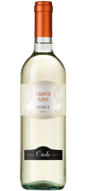 "Вино ""Sante Rive"" Soave DOC, 2018, 0.75 л"