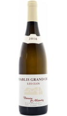 "Вино Domaine des Malandes, Chablis Grand Cru ""Les Clos"" AOC, 2018, 0.75 л"