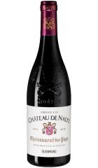 """Вино """"Chateau de Nalys"""" Rouge, Chateauneuf-du-Pape AOC, 2016, 0.75 л"""