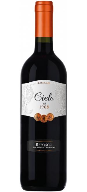 Вино Cielo e Terra, Refosco IGT, 2018, 0.75 л