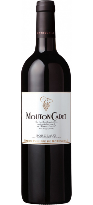 """Вино """"Mouton Cadet"""", Bordeaux AOC Rouge, 2012, 0.75 л"""