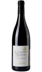 """Вино Cellier des Chartreux, """"Chevalier d'Anthelme"""" Rouge, Cotes du Rhone AOP, 2017, 0.75 л"""