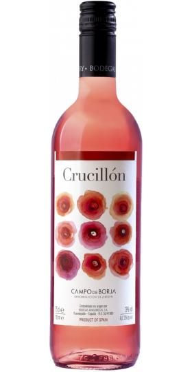 "Вино Bodegas Aragonesas, ""Crucillon"" Rosado, 2019, 0.75 л"
