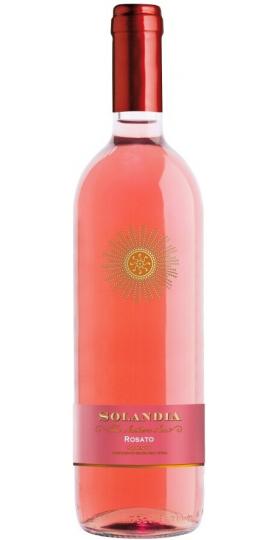 """Вино """"Solandia"""" Rosato, Salento IGT, 2018, 0.75 л"""