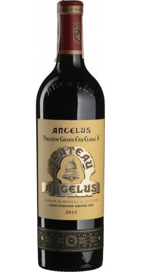 Вино Chateau Angelus, Saint-Emilion AOC 1-er Grand Cru Classe, 2014, 0.75 л
