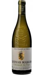 Вино Chateau Maucoil, Chateauneuf-du-Pape Tradition AOP Blanc, 2016, 0.75 л