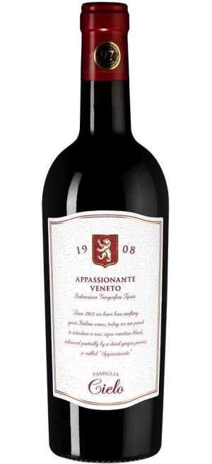 Вино Cielo e Terra, Appassionante Rosso, Veneto IGT, 2019, 0.75 л