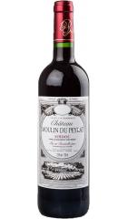 Вино Chateau Moulin du Peyrat, Medoc AOC, 2014, 0.75 л