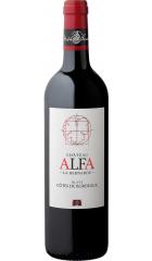 Вино Chateau Alfa la Bernarde, Blaye Cotes de Bordeaux AOC, 2018, 0.75 л