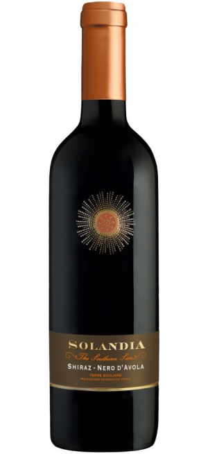 """Вино """"Solandia"""" Shiraz-Nero d'Avola, Terre Siciliane IGT, 2017, 0.75 л"""