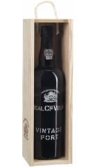 Портвейн Real Companhia Velha, Vintage Port, 2008, wooden box, 0.75 л