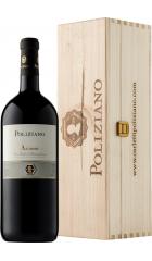 """Вино Poliziano, """"Asinone"""", Nobile di Montepulciano DOCG, 2016, wooden box, 1.5 л"""