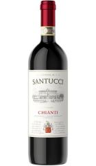 """Вино Castellani, """"Famiglia Santucci"""" Chianti DOCG, 2018, 0.75 л"""