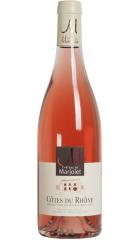Вино Chateau de Marjolet, Cotes du Rhone AOC Rose, 2018, 0.75 л