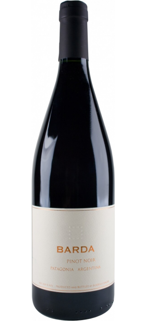 "Вино ""Barda"" Pinot Noir, Patagonia Rio Negro, 2016, 0.75 л"