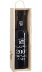 Портвейн Real Companhia Velha, Vintage Port, 2001, wooden box, 0.75 л