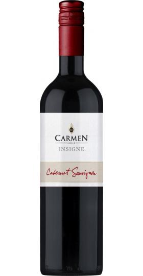 """Вино Carmen, """"Insigne"""" Cabernet Sauvignon, 2019, 0.75 л"""